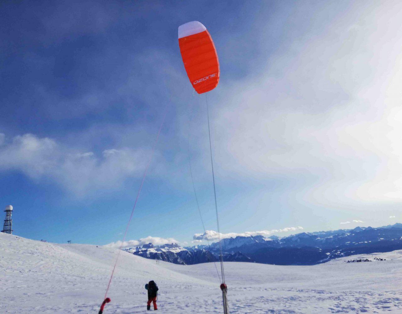 Rittner Horn Snowkite 1