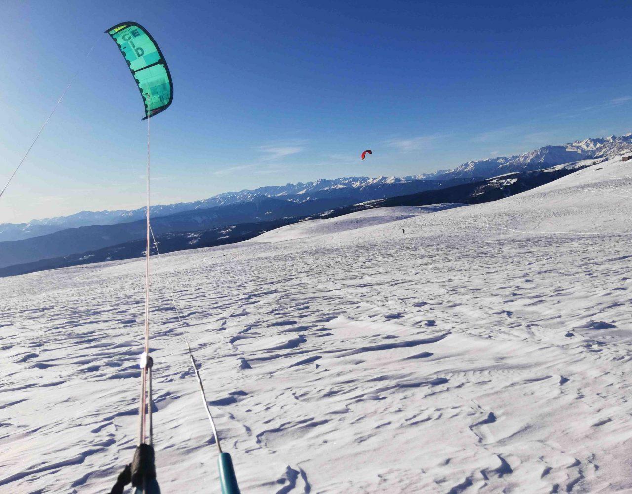 Rittner Horn Snowkite 11