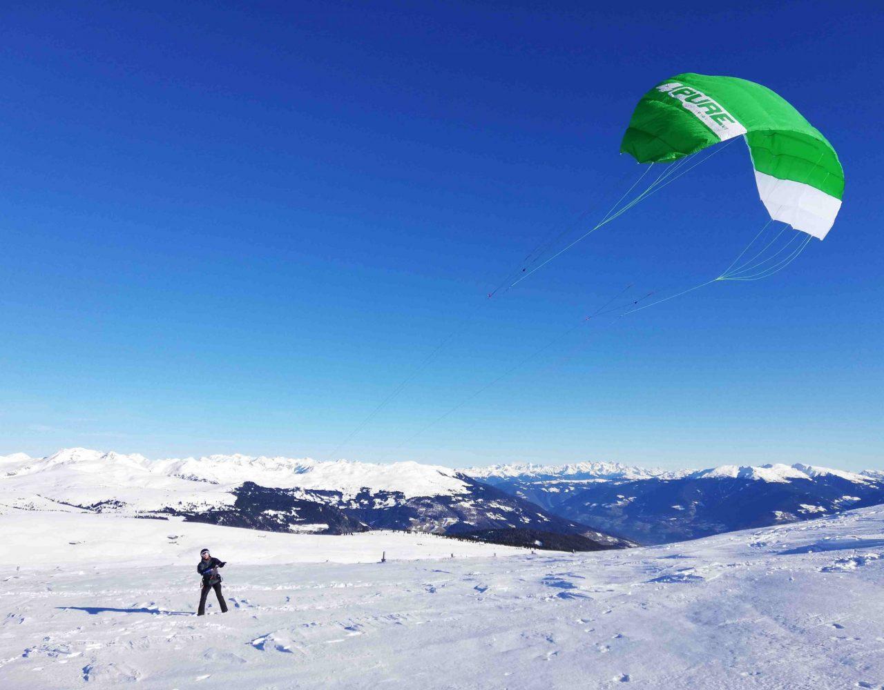 Rittner Horn Snowkite 12