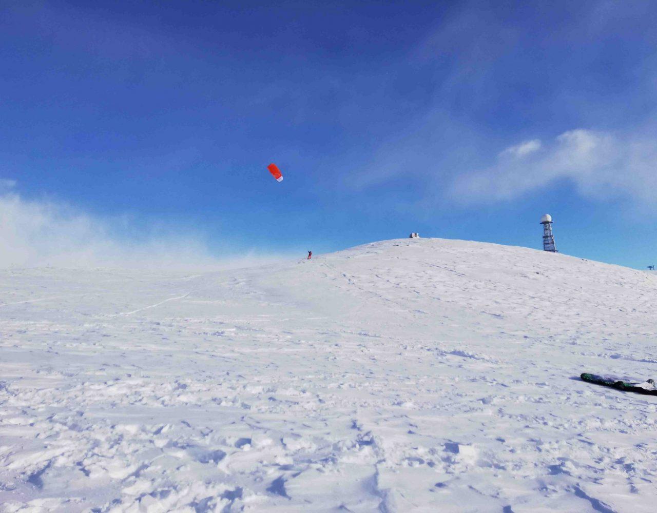 Rittner Horn Snowkite 2