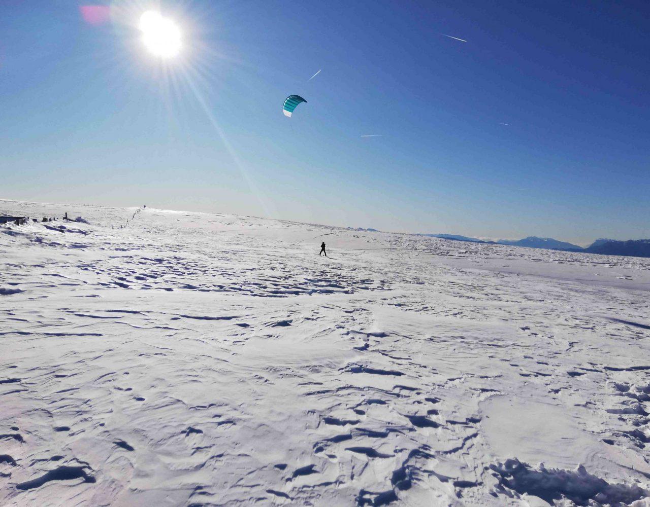 Rittner Horn Snowkite 9